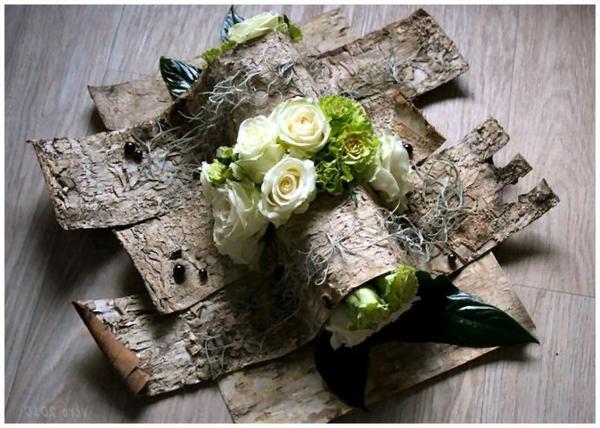 Comment faire une composition florale originale - Ou trouver de la mousse pour faire des coussins ...