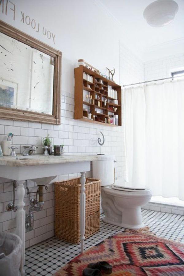 ★ La décoration de salle de bain – si mignon en vintage style!