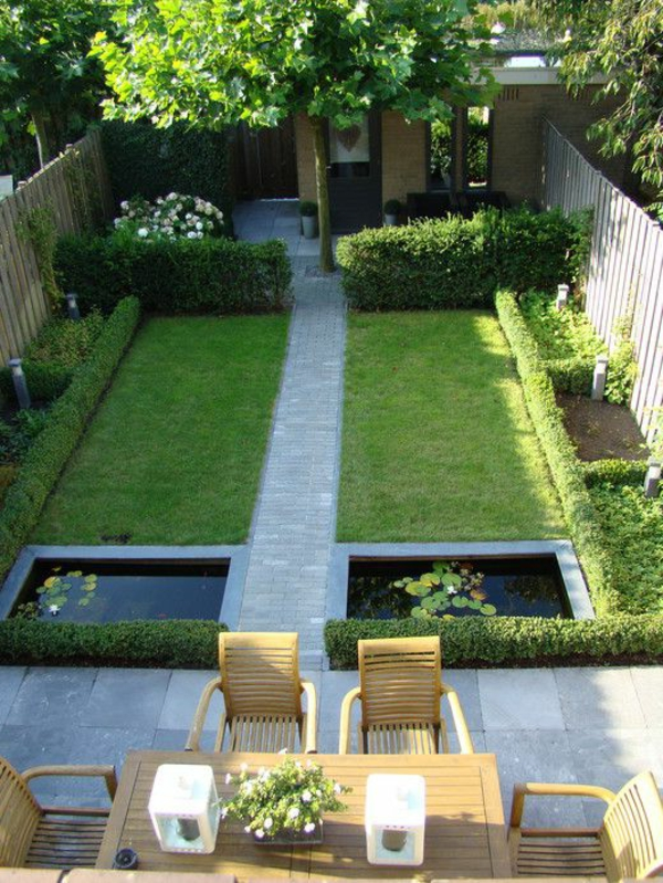Comment am nager un petit jardin id e d co original for Jardin 50m2 amenager