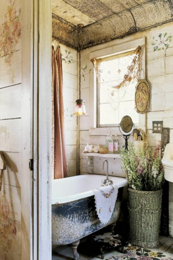 La décoration de salle de bain - si mignon en vintage style ...