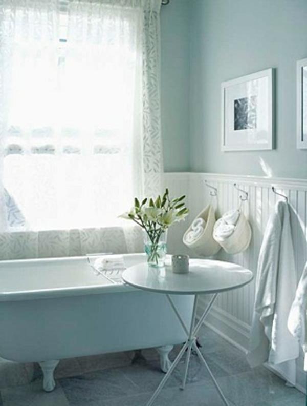La d coration de salle de bain si mignon en vintage style - Decoration d une petite salle de bain ...