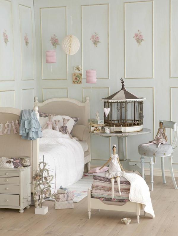 décoration-chambre-ado-fille-vintage