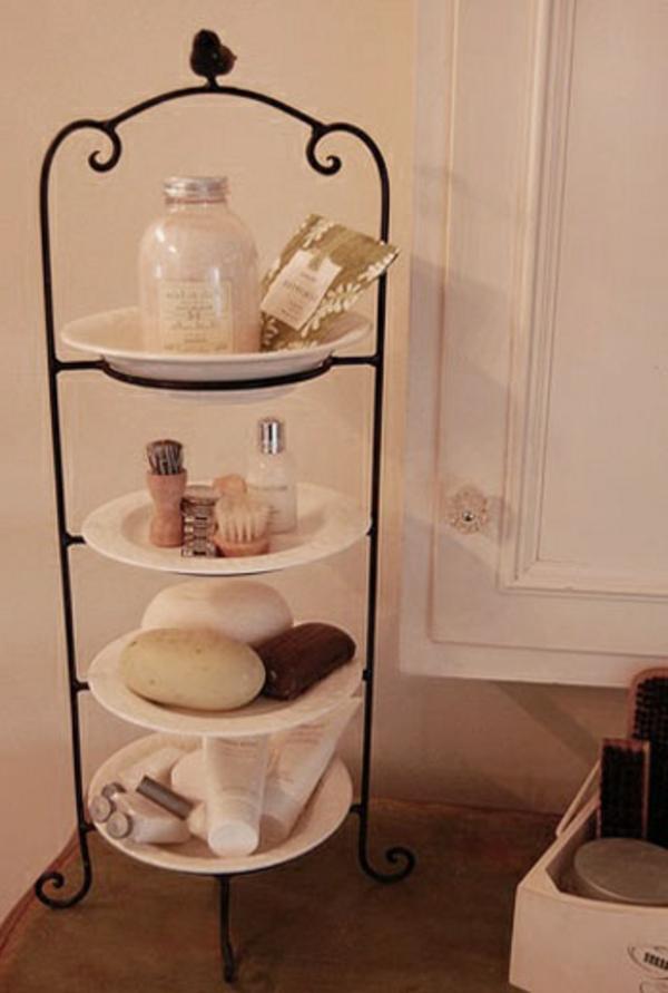 D coration tag re salle de bain for Etagere sous lavabo salle bain