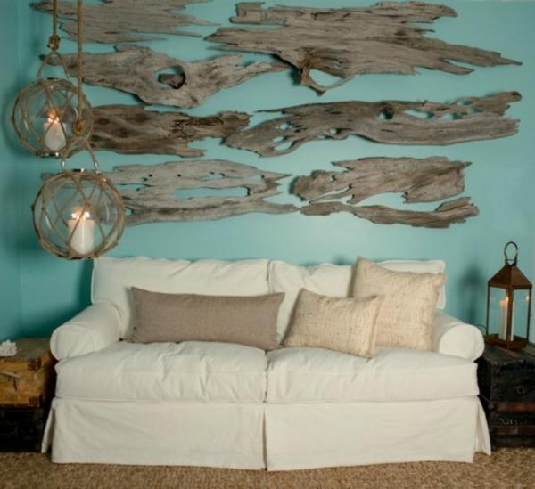 décoration-en-bois-flotté-chambre-àcoucher