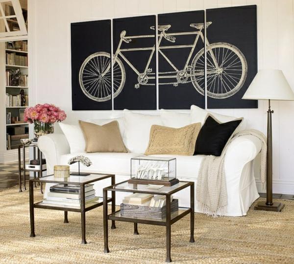décorer-sa-maison-avec-peinture-de-vélo