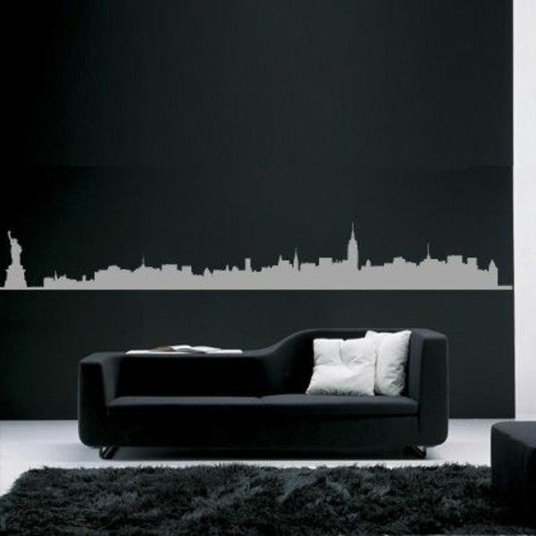 deco-blanc-et-noir-stickers-muraux-new-york