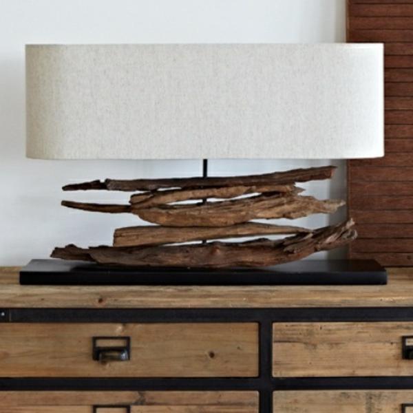 design-de-maison-lampes-en-bois-flotté