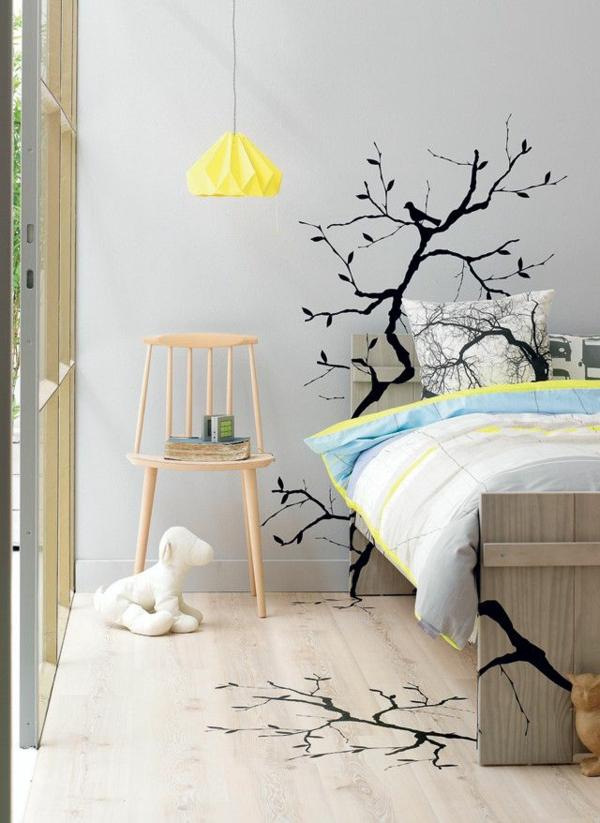 Id e novateur stickers muraux pas cher pour la d co de for Decoration chambre adulte pas cher