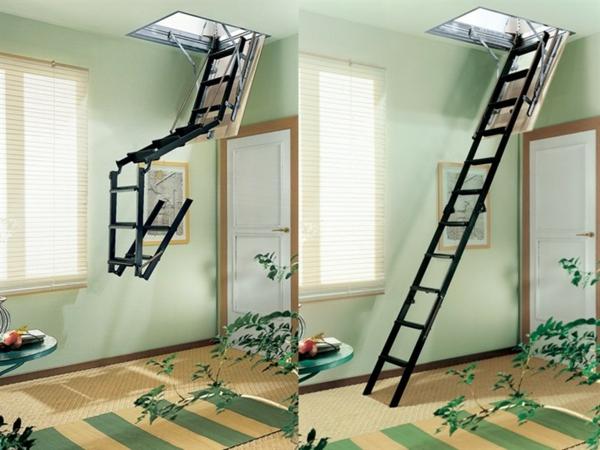 Fabulous Modèles d' escalier escamotable pour votre design d'intérieur  AD71