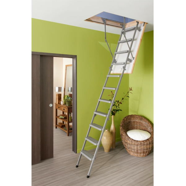 Comment monter un escalier escamotable great leroy merlin - Monter un escalier escamotable ...