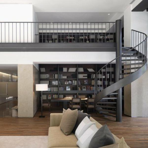 escalier-fer-métale-