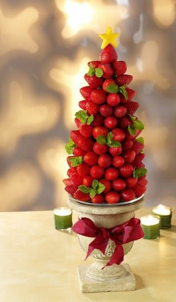 fraise-pour-decoration-table-de-noel-