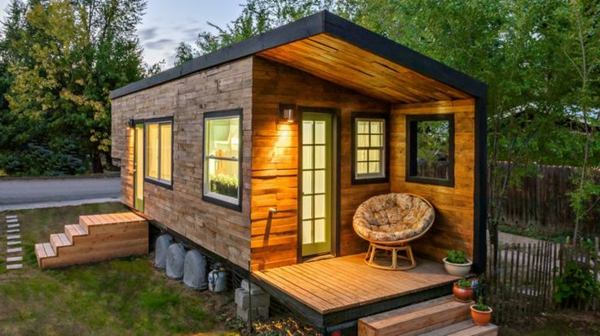 Un abri de jardin design differents - Cabanes en bois habitables ...