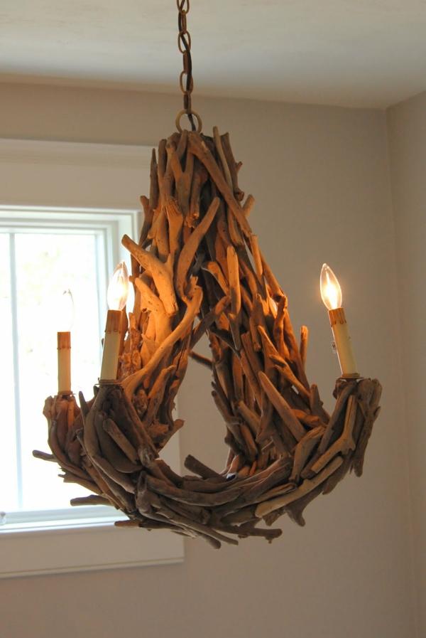 Comment Faire Une Lampe En Bois Flotte Archzine Fr