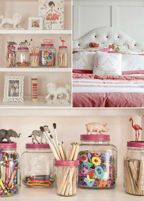 26 id es pour d co chambre ado fille for Idee decoration chambre fille