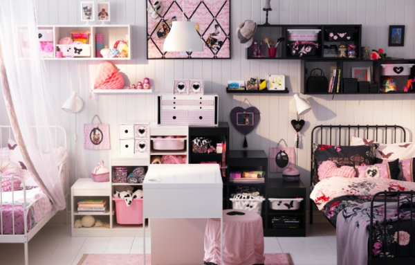 7 chambre ado fille ikea chambre rose ikea ikea chambre ado vintage - Chambre Vintage Ado Fille
