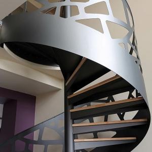Design d' escalier hélicoïdal