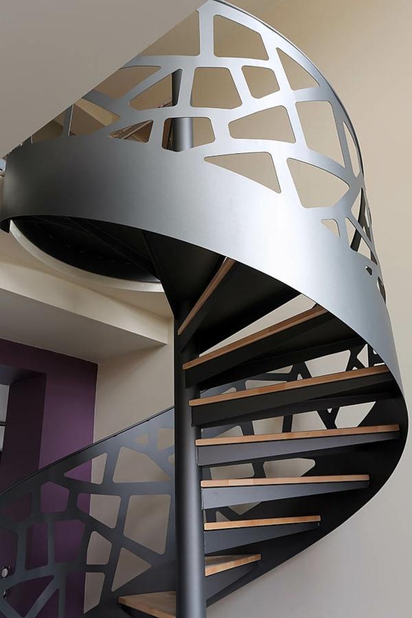 Design D Escalier Helicoidal Archzine Fr