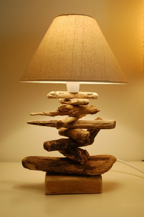 Comment faire une lampe en bois flott - Ou trouver du bois pour faire des meubles ...