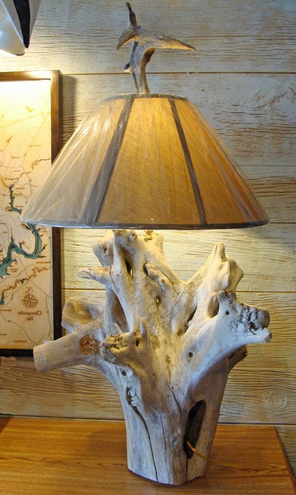 Comment Faire Une Lampe En Bois Flott 233