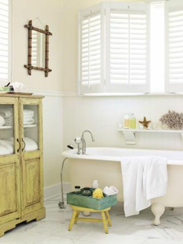 La décoration de salle de bain – si mignon en vintage style!