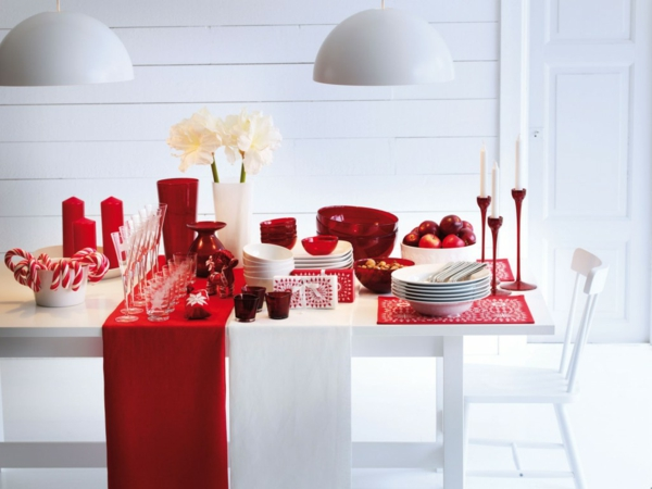 Free Perfect Liens Commerciaux With Deco Table Noel Rouge Et Blanc With Decoration  Table De Noel Rouge Et Blanc
