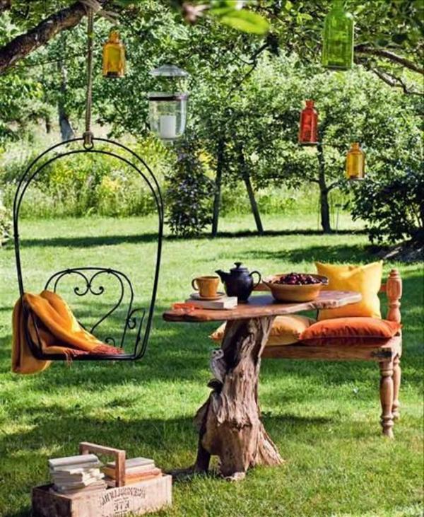 Des mobilier de jardin – idées pour le jardin