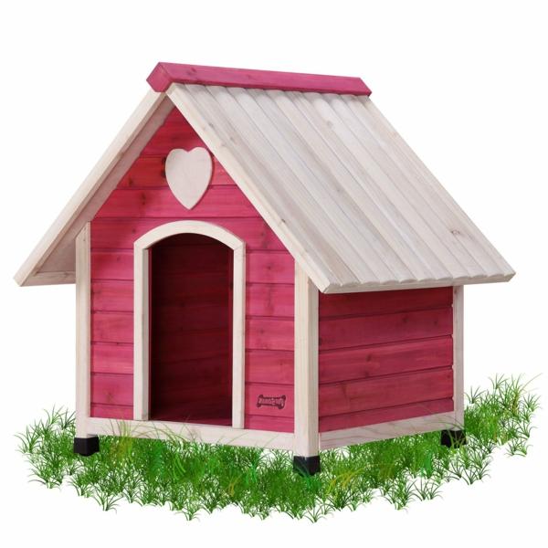 niches-pour-chiens-plastique-rose-