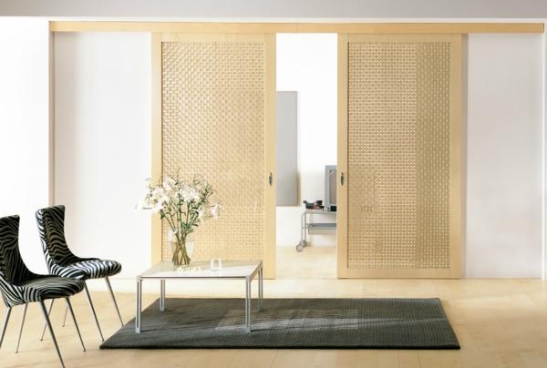 Le panneau japonais heytens dans la d coration for Chambre a coucher en bambou