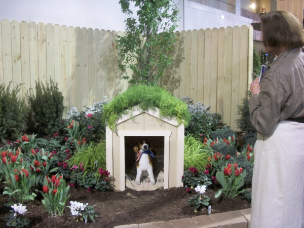 petit-niche-pour-chien-blanc