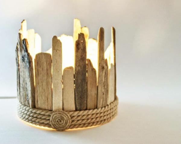 On espère que vous avez bien aimé nos idées pour lampe bois flotté ...