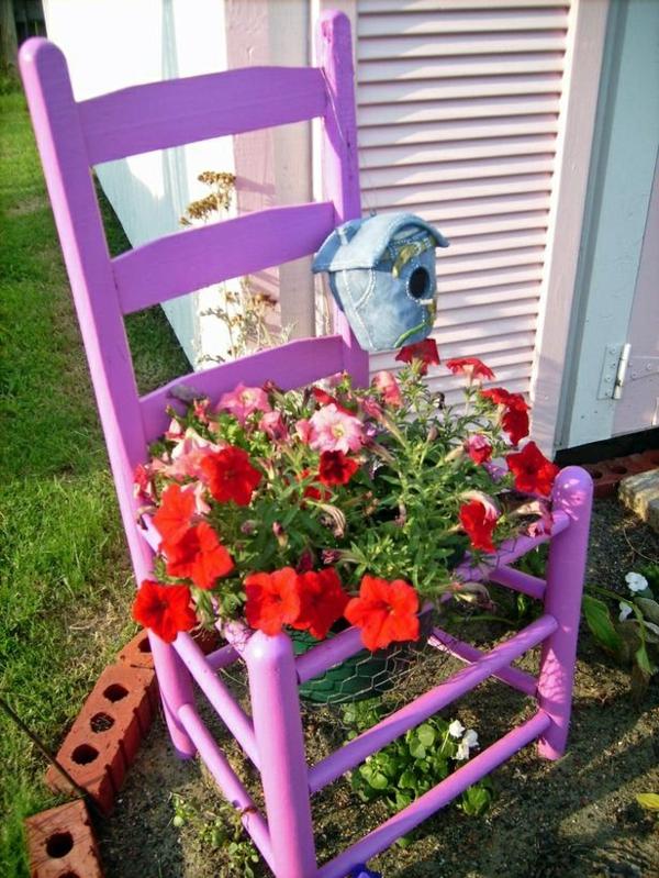 pot-de-fleur-chaise