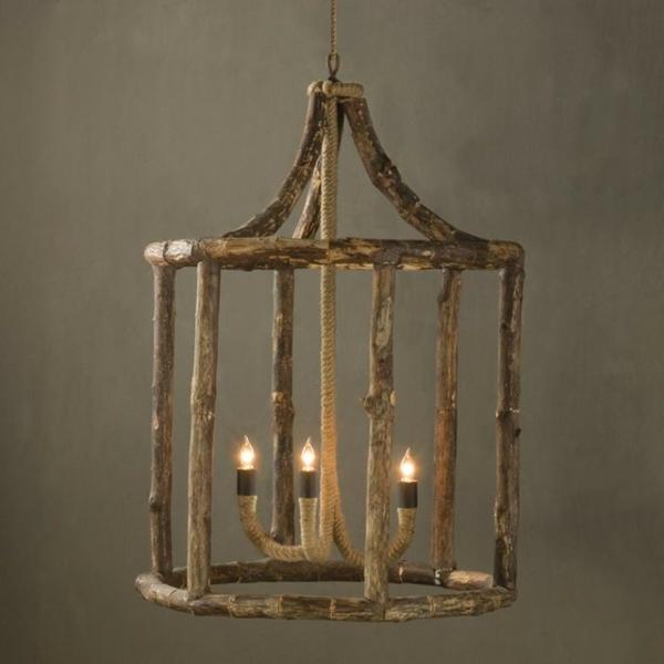 rustique-lampe-bois-flotté-imitation-bougie