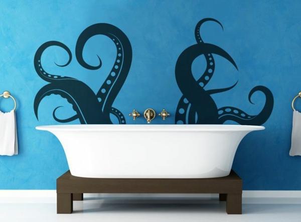 Id e novateur stickers muraux pas cher pour la d co de for Stickers meuble salle de bain
