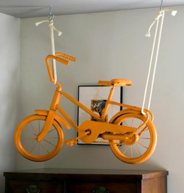 suspendu-décoration-de-vélo