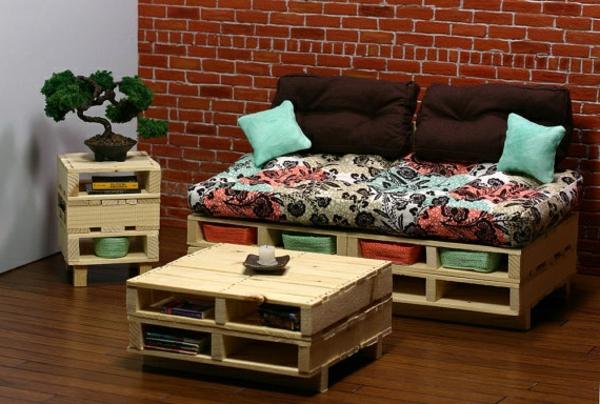 Comment fabriquer une table basse en bois - Fabriquer une table basse avec une palette en bois ...