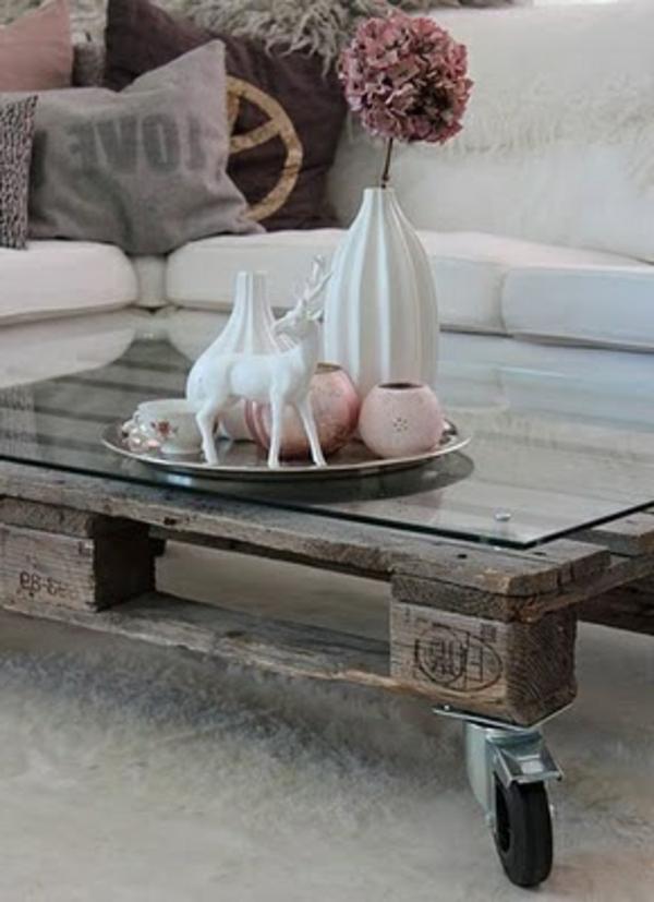 table-basse-en-palette-gris
