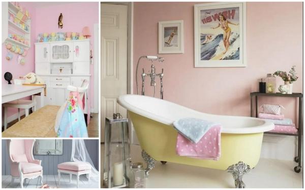 Les couleurs pastels dans le design d 39 int reur for Salle de bain 3 couleurs