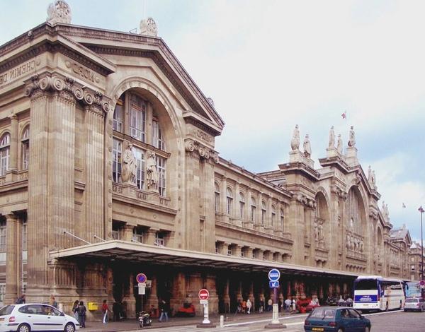Gare-du-Nord-Paris-architecture-haussmmannienne