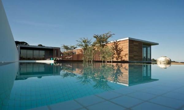 Design d 39 ext rieur pour la maison de la mer - Villa bord de mer ...