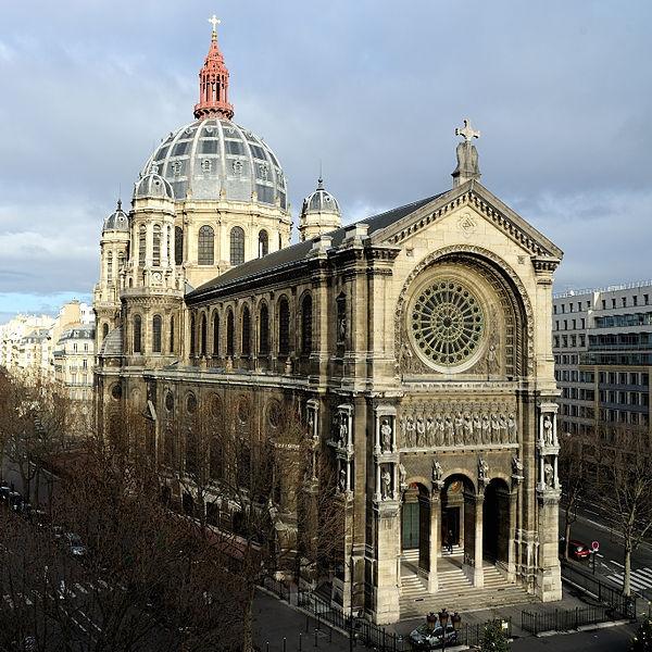 architecture-haussmmannienne-Saint-Augustin-Church-Paris