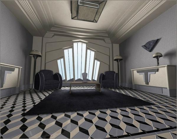 L 39 art d co architecture et la maison cubiste - Interieur art deco ...