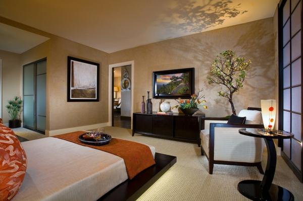 asian-décoration-zen-chambre-à-coucher