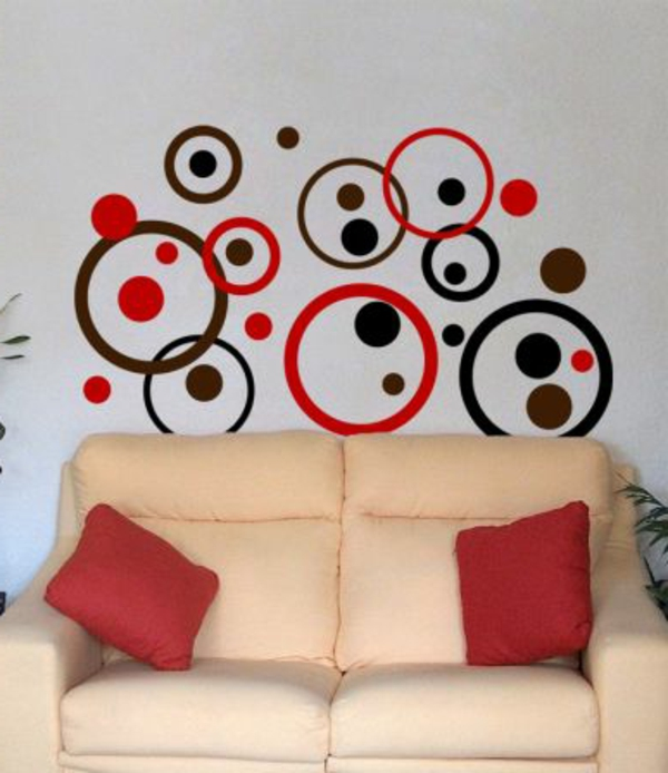 magnifiques stickers d coratifs g ants. Black Bedroom Furniture Sets. Home Design Ideas