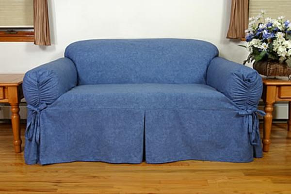bleu-housse-de-canapé