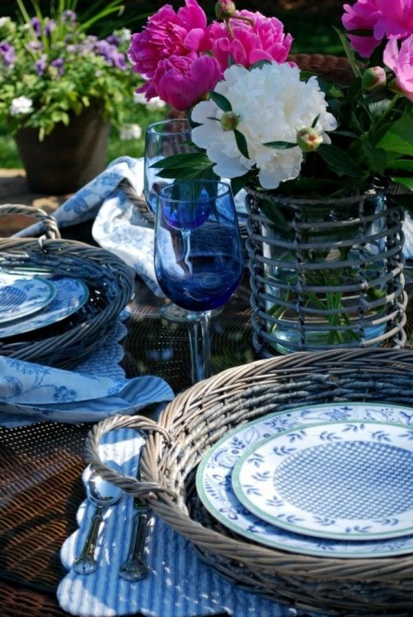bleu-service-objet-deco-vintage