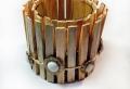 DIY- créer style rustique et changer le chandelier cristal
