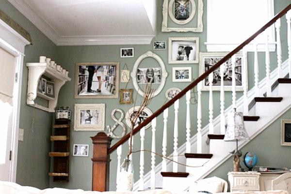 cadre-photo-deco-escalier-vintage