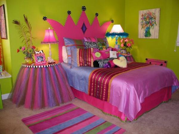small girls bedroom ideas home design | Décoration d'une chambre de petite princesse - Archzine.fr
