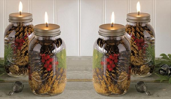chandelier-pot-décoration-forêt